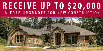 $20,000 in Free Upgrades in The Commons of Lake Houston!