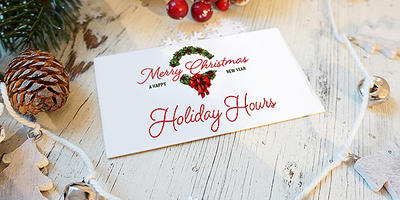 Sales Offices Holiday Hours